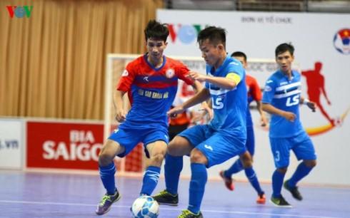Thái Sơn Nam lên ngôi vô địch giải Futsal HDBank sớm 1 vòng đấu - ảnh 2