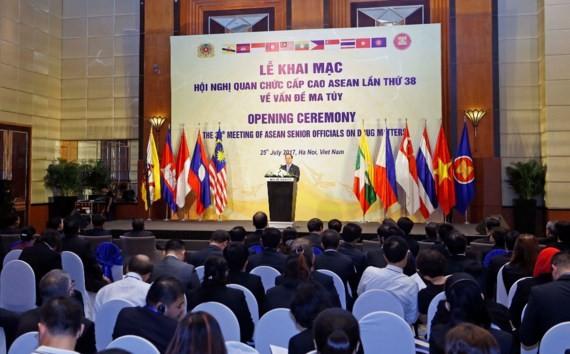 Công bố kết quả hội nghị Quan chức cấp cao ASEAN lần thứ 38 về vấn đề ma túy - ảnh 1