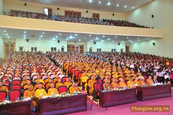 Đại hội Đại biểu Phật giáo tỉnh Ninh Bình nhiệm kỳ 2017- 2022 - ảnh 1