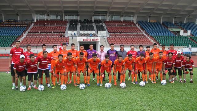 U22 Việt Nam so tài cùng Đội tuyển các ngôi sao K.League - ảnh 1
