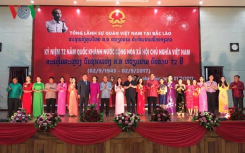 Đại sứ quán Việt Nam tại Campuchia và bắc Lào kỷ niệm 72 năm Quốc khánh - ảnh 5