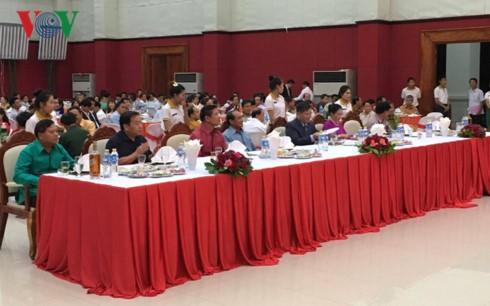 Đại sứ quán Việt Nam tại Campuchia và bắc Lào kỷ niệm 72 năm Quốc khánh - ảnh 6