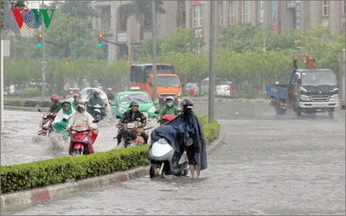 Áp thấp nhiệt đới gây mưa dông ở nhiều nơi, đề phòng ngập lụt - ảnh 2