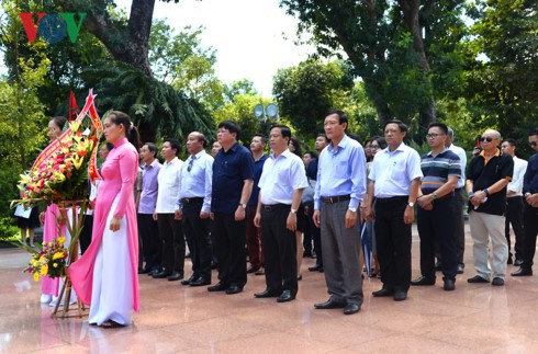 Tổng Giám đốc Đài TNVN Nguyễn Thế Kỷ làm việc tại Bình Định - ảnh 9