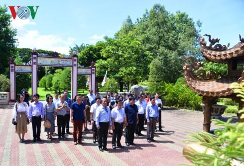 Tổng Giám đốc Đài TNVN Nguyễn Thế Kỷ làm việc tại Bình Định - ảnh 10