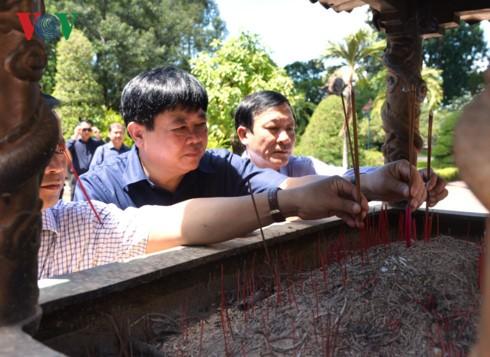 Tổng Giám đốc Đài TNVN Nguyễn Thế Kỷ làm việc tại Bình Định - ảnh 11