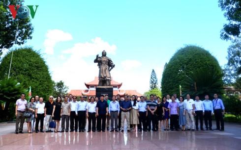 Tổng Giám đốc Đài TNVN Nguyễn Thế Kỷ làm việc tại Bình Định - ảnh 12