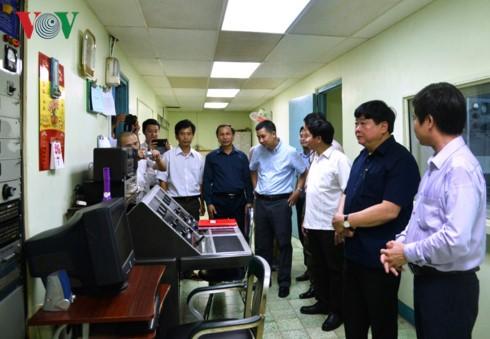Tổng Giám đốc Đài TNVN Nguyễn Thế Kỷ làm việc tại Bình Định - ảnh 1