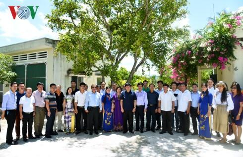 Tổng Giám đốc Đài TNVN Nguyễn Thế Kỷ làm việc tại Bình Định - ảnh 6