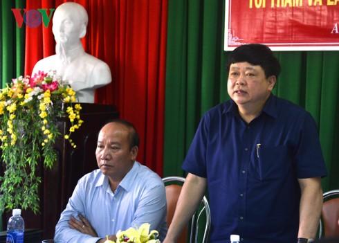 Tổng Giám đốc Đài TNVN Nguyễn Thế Kỷ làm việc tại Bình Định - ảnh 4