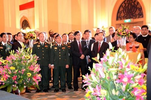 Chiêu đãi kỷ niệm 68 năm nước Quốc khánh Cộng hòa nhân dân Trung Hoa - ảnh 1