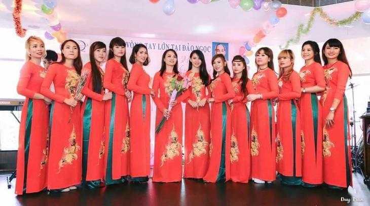 Gặp gỡ chào mừng Ngày Phụ nữ Việt Nam tại Đài Loan (Trung Quốc) - ảnh 5