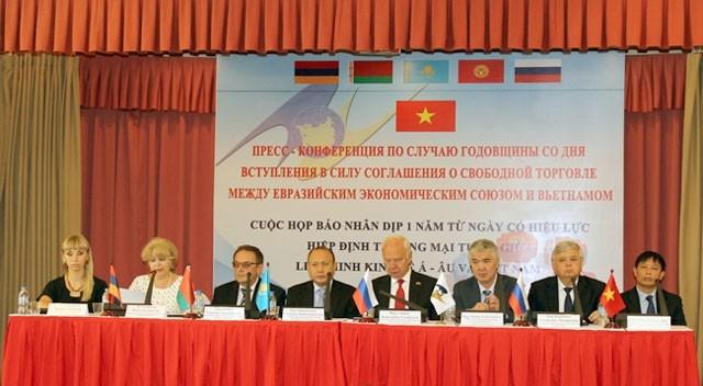 Động lực từ Hiệp định thương mại tự do giữa Liên minh Kinh tế Á – Âu và Việt Nam  - ảnh 1