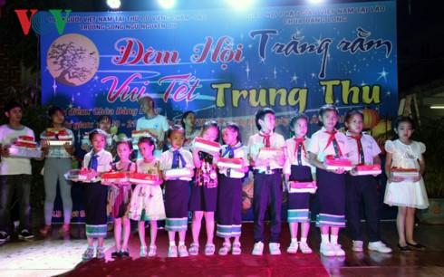 Tết Trung Thu của con em kiều bào Việt Nam tại Lào - ảnh 2