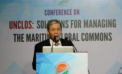 """Ấn Độ tổ chức hội thảo """"UNCLOS: Các giải pháp quản lý những điểm chung toàn cầu trên biển"""" - ảnh 1"""