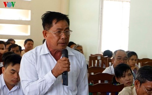 Chủ tịch Ủy ban Trung ương Mặt trận Tổ quốc Việt Nam, Trần Thanh Mẫn, tiếp xúc cử tri tại TP Cần Thơ - ảnh 1