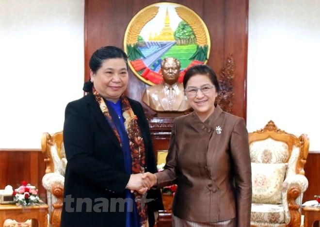 Quốc hội Việt Nam và Lào tăng cường hợp tác - ảnh 1