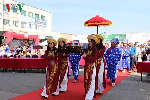 Người Việt tại Séc long trọng tổ chức lễ giỗ Tổ Hùng Vương - ảnh 6