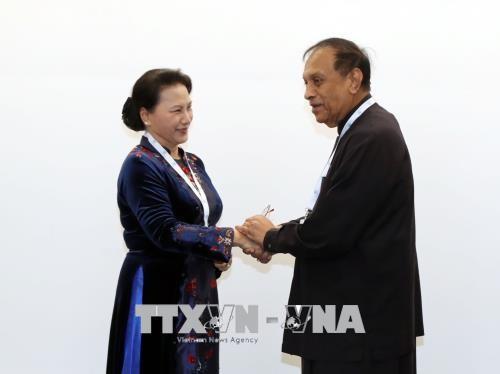 Chủ tịch Quốc hội Sri Lanka bắt đầu thăm chính thức Việt Nam  - ảnh 1