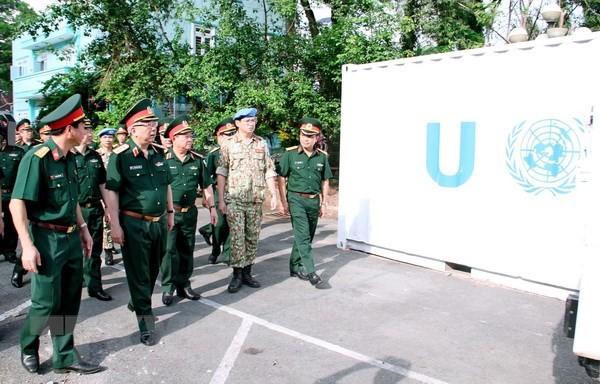 Việt Nam đã sẵn sàng tham gia lực lượng gìn giữ hòa bình Liên Hợp quốc - ảnh 1