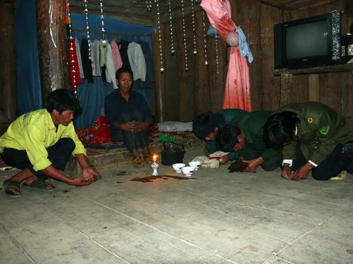 Độc đáo tục cưới hỏi của dân tộc Mảng Lai Châu  - ảnh 3