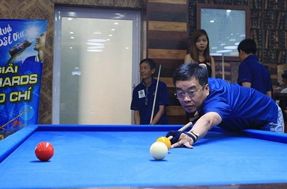 Hơn 100 cơ thủ tranh tài tại Giải bi-da báo chí Đồng bằng sông Cửu Long lần thứ 11 - ảnh 1