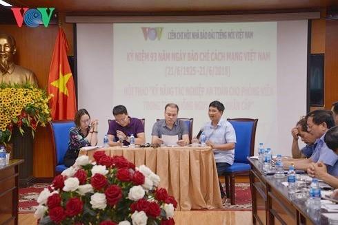 Liên chi Hội Nhà báo Đài Tiếng nói Việt Nam Kỷ niệm 93 năm ngày Báo chí Cách mạng Việt Nam - ảnh 2