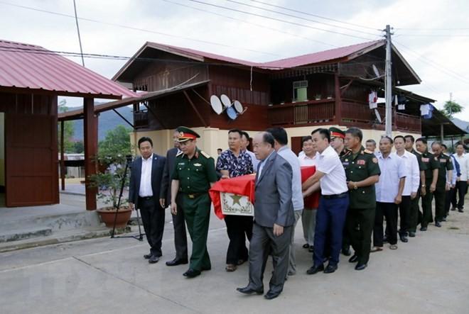 Lễ hồi hương, đưa tiễn hài cốt quân tình nguyện và chuyên gia Việt Nam hy sinh tại Lào - ảnh 1