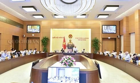 Bế mạc phiên họp thứ 25, Ủy ban Thường vụ Quốc hội - ảnh 1