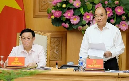 Thủ tướng dự cuộc họp Hội đồng Tư vấn chính sách tài chính, tiền tệ - ảnh 1