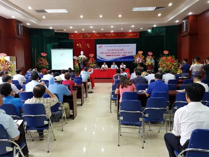 Đại hội Đại biểu Liên đoàn Bóng bàn Việt Nam nhiệm kỳ 2018 - 2022 - ảnh 1