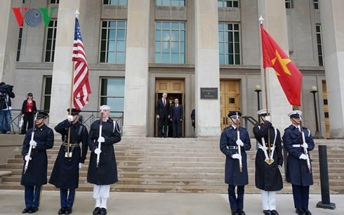 Chuyến thăm nhằm thúc đẩy mối quan hệ Đối tác Toàn diện Việt Nam - Hoa Kỳ - ảnh 1