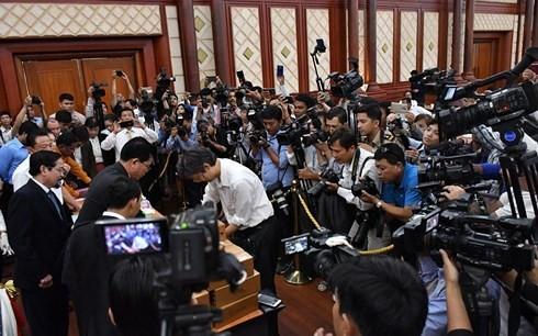 Việt Nam luôn mong muốn Campuchia ổn định, hòa bình và phát triển - ảnh 1