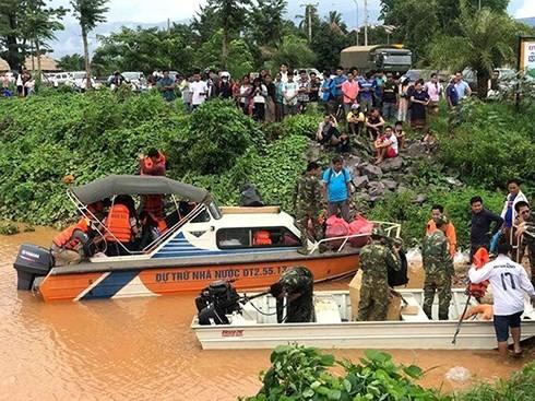 Việt Nam chia sẻ sâu sắc với nhân dân Lào về những thiệt hại từ việc vỡ đập thủy điện - ảnh 1