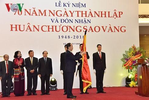 Liên hiệp các Hội VH-NT Việt Nam đón nhận Huân chương Sao Vàng - ảnh 4