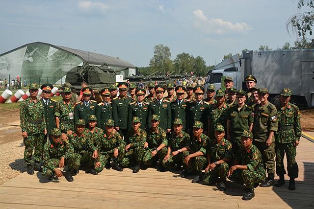 Việt Nam tham gia Hội thao quân sự quốc tế 2018 tại Nga - ảnh 1