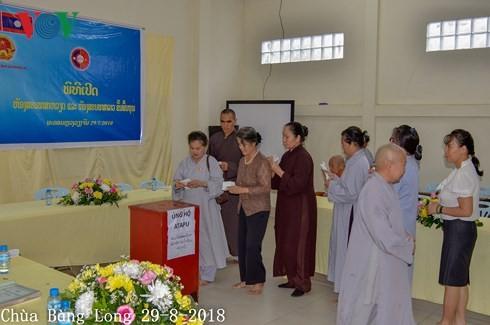 Người Việt Nam tại Lào tiếp tục quyên góp tiền ủng hộ người dân Attapeu - ảnh 1