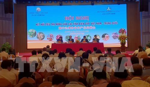 Hội nghị kết nối tiêu thụ nông sản các tỉnh biên giới Việt Nam- Trung Quốc - ảnh 1