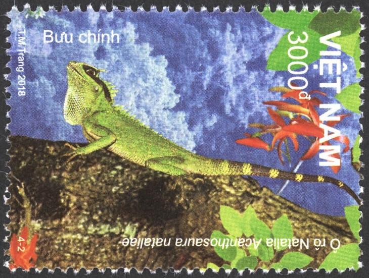 """Phát hành bộ tem """"Động vật Vườn quốc gia Kon Ka Kinh"""" - ảnh 1"""