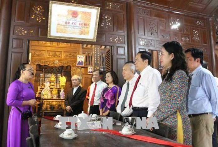 Chủ tịch Ủy ban TW MTTQ Việt Nam Trần Thanh Mẫn làm việc tại tỉnh An Giang - ảnh 1