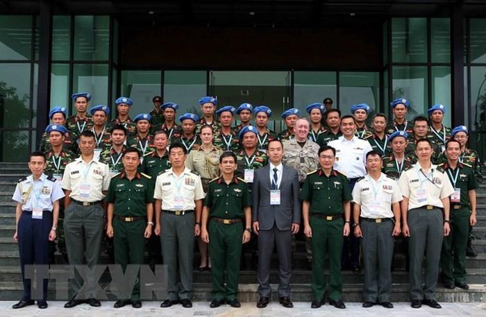 Tăng cường trao đổi chuyên môn công binh gìn giữ hòa bình Liên hợp quốc giữa Việt Nam – Nhật Bản  - ảnh 1