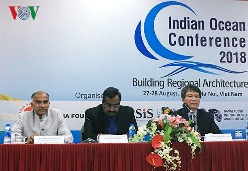 """Hội thảo Ấn Độ Dương lần thứ ba với chủ đề """"Xây dựng cấu trúc khu vực"""" - ảnh 1"""