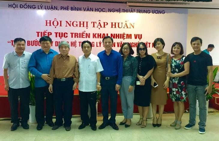 Từng bước xây dựng hệ thống lý luận văn nghệ Việt Nam - ảnh 1