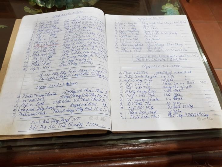 Người kết nối Đài Tiếng nói Việt Nam với các gia đình liệt sĩ - ảnh 1