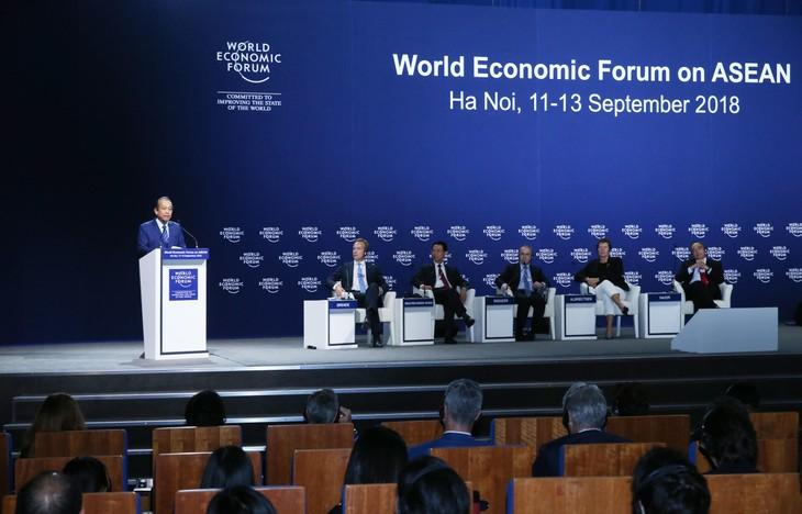Việt Nam muốn cùng WEF thúc đẩy đối thoại và quan hệ đối tác rộng mở - ảnh 2