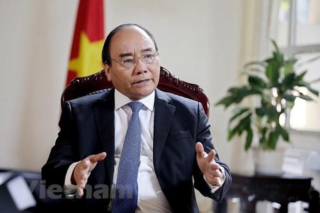 Thủ tướng Nguyễn Xuân Phúc trả lời phỏng vấn báo The Straits Times - ảnh 1