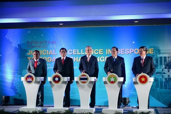 Việt Nam dự hội nghị quốc tế về lĩnh vực tòa án và tư pháp tại Thái Lan - ảnh 1