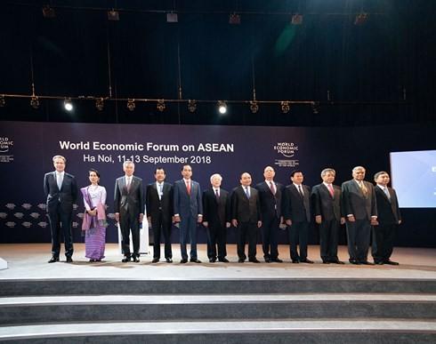WEF ASEAN 2018 lan tỏa tinh thần đổi mới, sáng tạo để phát triển - ảnh 1