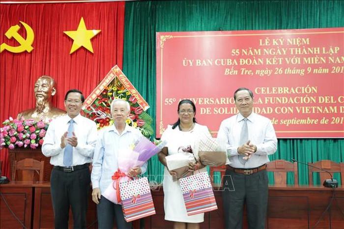 Kỷ niệm  55 năm Ngày thành lập Ủy ban Cuba đoàn kết với miền Nam Việt Nam  - ảnh 1