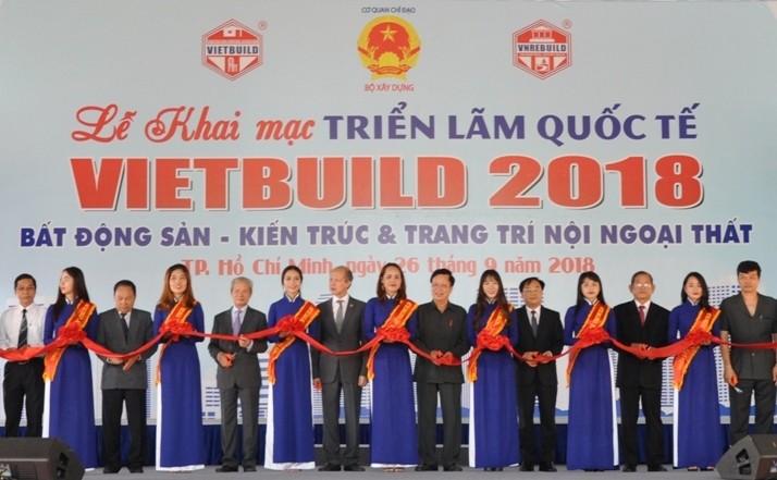 Hơn 900 doanh nghiệp tham gia Vietbuild thành phố Hồ Chí Minh TPHCM 2018 lần thứ 2 - ảnh 1